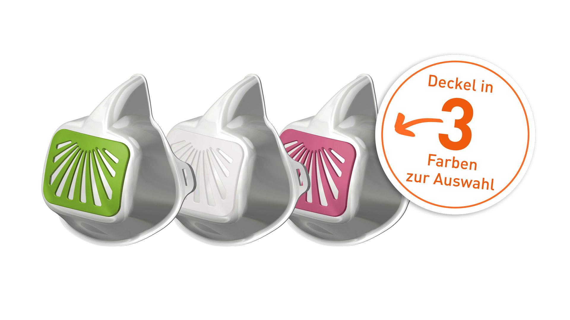 Mund Nasen Maske 3 Deckelfarben